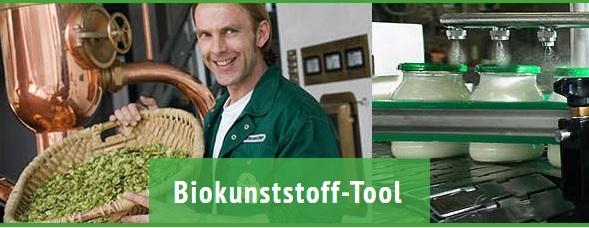 Biokunststoff-Tool