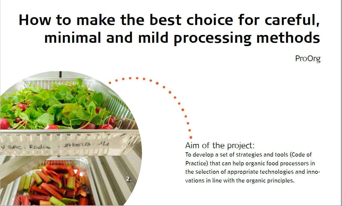 Core Organic Projekt